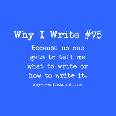 why we write essay
