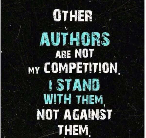 Other Authors are  Not My Competition